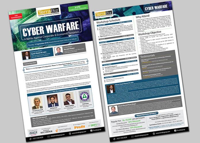 Graphic Design- Cyber Warfare