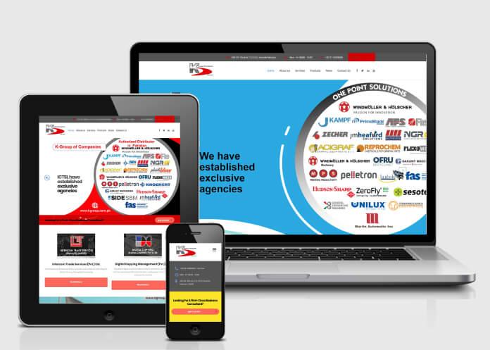 Kgroup-Website