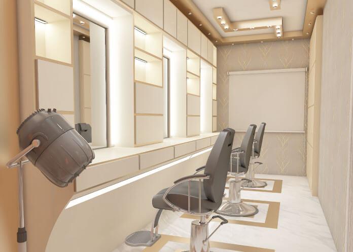 3D Beauty Parlor Design