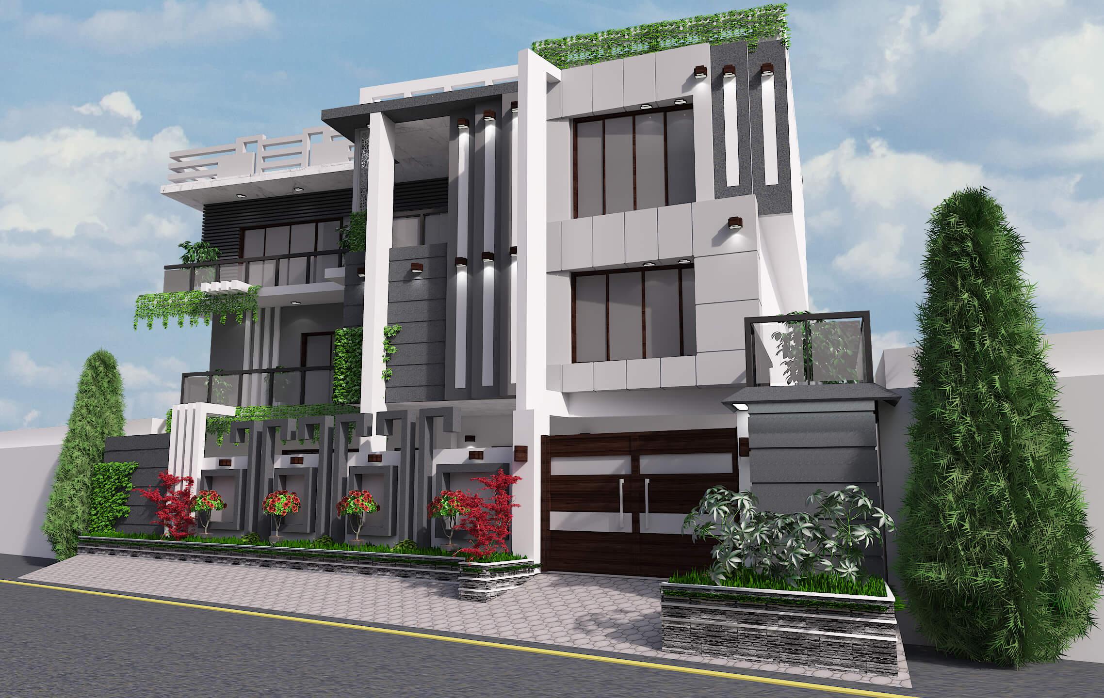 Elevation Design in Karachi